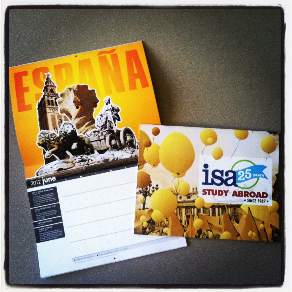 ISA 25th Anniversary Calendar
