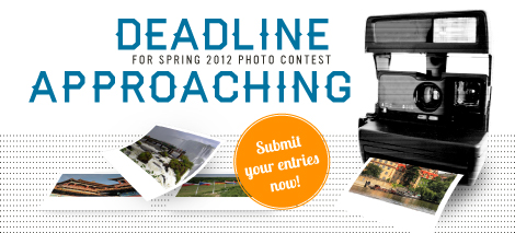 Photo Contest spring 2012 deadline approaching