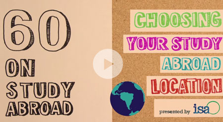 How to Choose Your Study Abroad Location