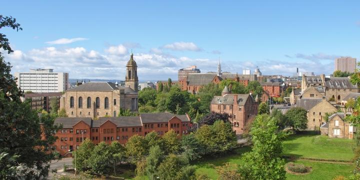Glasgow cityscape (shutterstock)