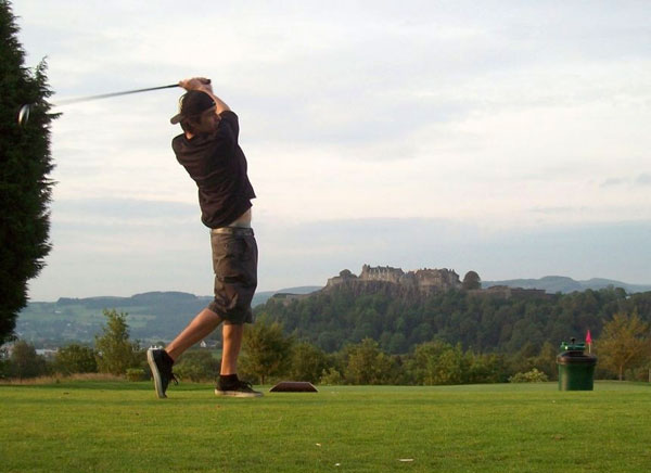 Golfing in Stirling