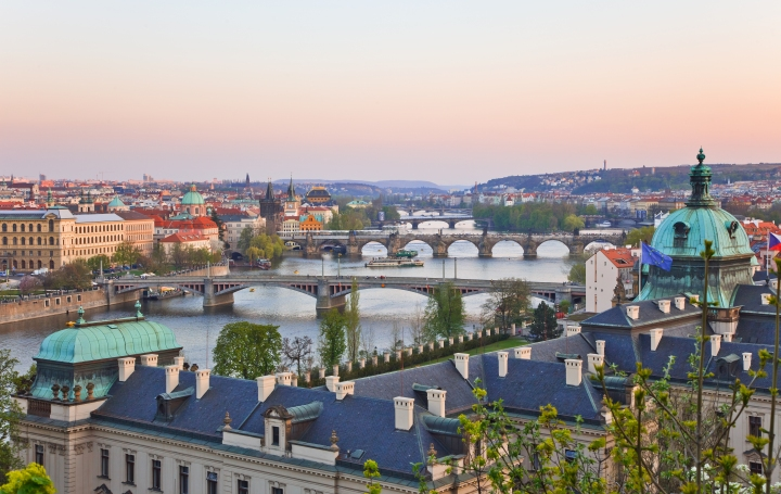 Prague panorama (shutterstock)