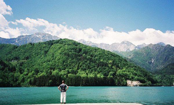 Lake Barcis, Barcis, Italy