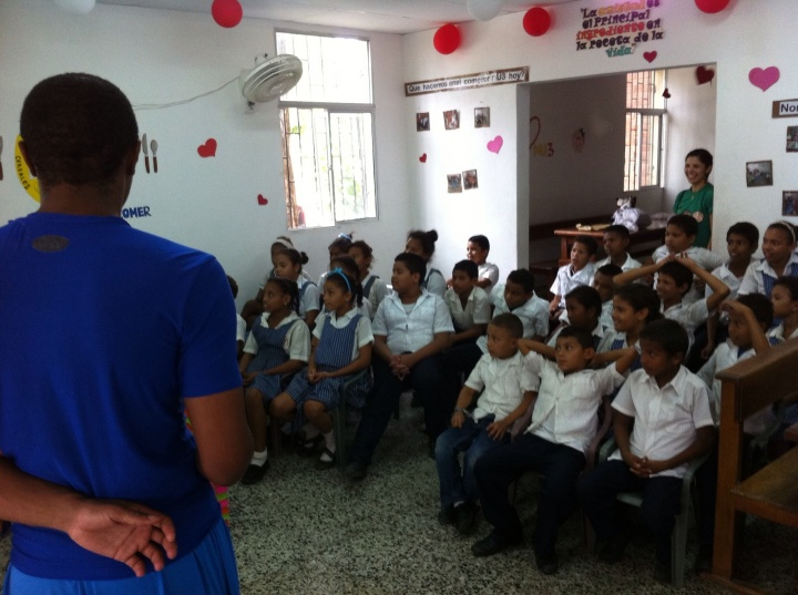 ISA Gives Back   Barranquilla, Colombia