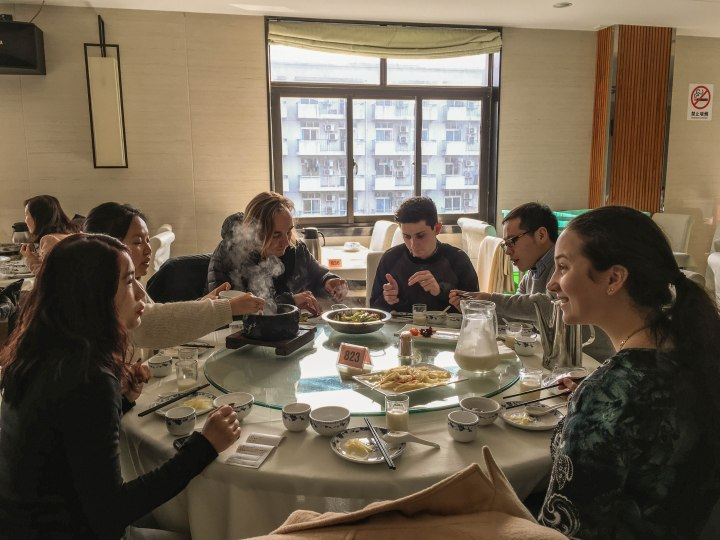ISA interns in Shanghai, China