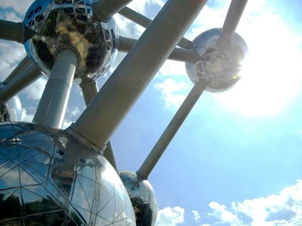 Brussels.Belgium.2011.Atomium