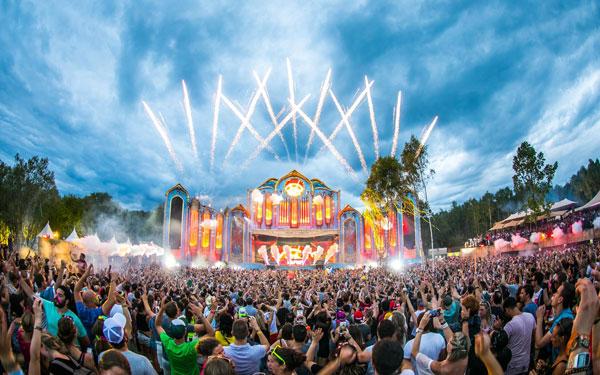 Tomorrowland Festival in belgium