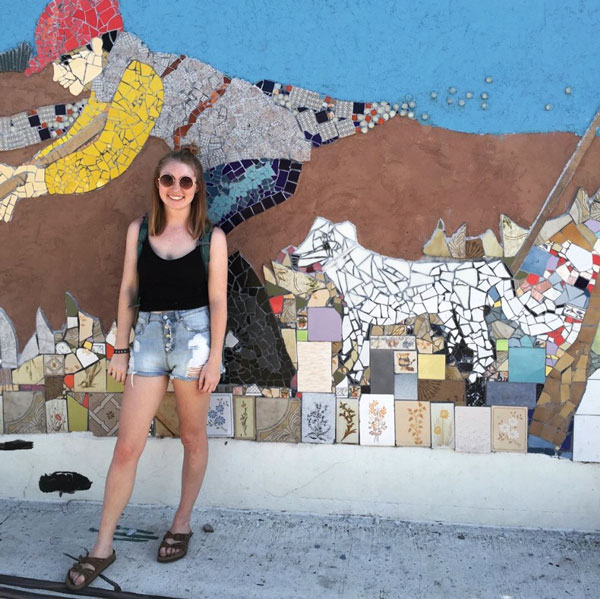 Street art in Palermo.
