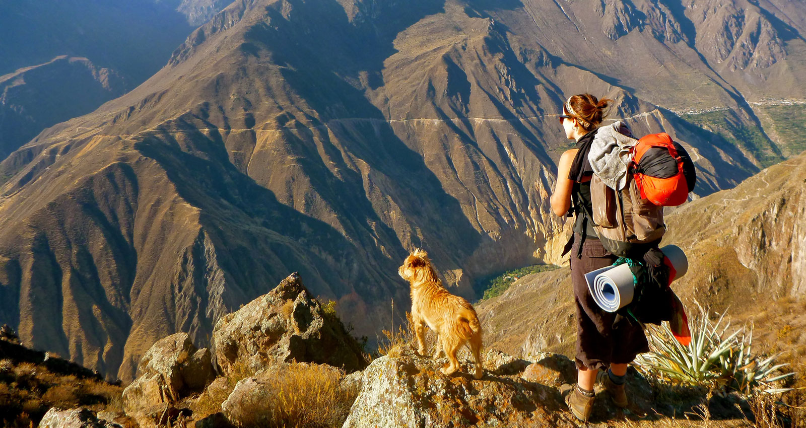 ISA Student hiking in Cusco, Peru.