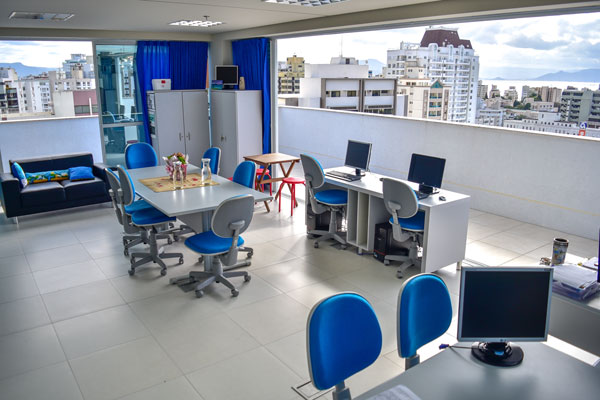 Photo of the ISA Abroad office in Florianopolis, Brazil