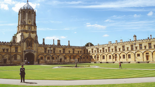 University of Oxford in England.