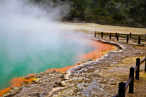 Wai-o-tapu Thermal Wonderland Hot Springs